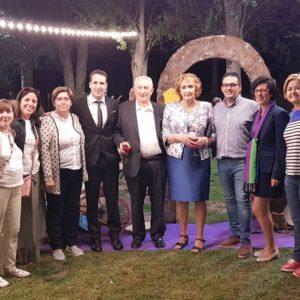 El Hotel Ciudad de Burgos dona 3000€ a Misevi en su 30º aniversario