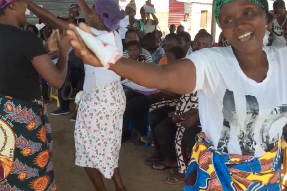 En África se agradece danzando
