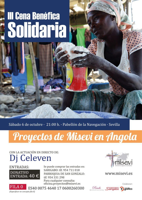 III Cena Benéfica Solidaria en Sevilla
