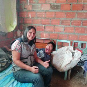 """Delmy Lanza: """"Misevi acompaña e interviene para que las personas con discapacidad lleven una vida digna y con autonomía relativa""""."""