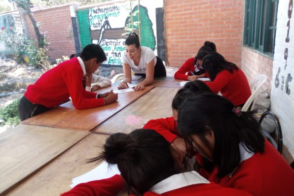 Experiencia misionera de Laura Jiménez en Bolivia